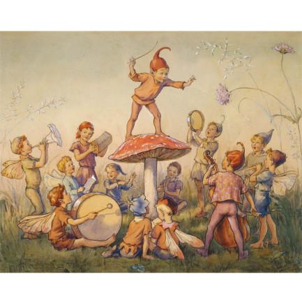 Print, Elfin Chorus