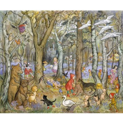 Print, Fairy Tale Wood