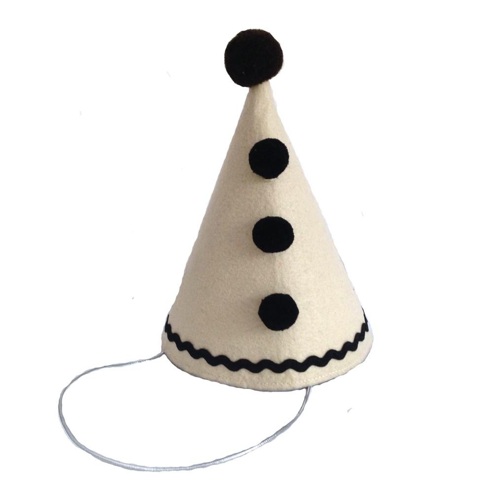 Pierrot Clown Hat - Elfie Children's Clothes