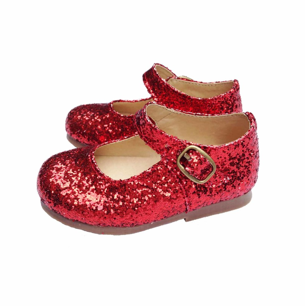 Red Glitter Shoes Toddler