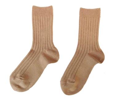 Camel short socks