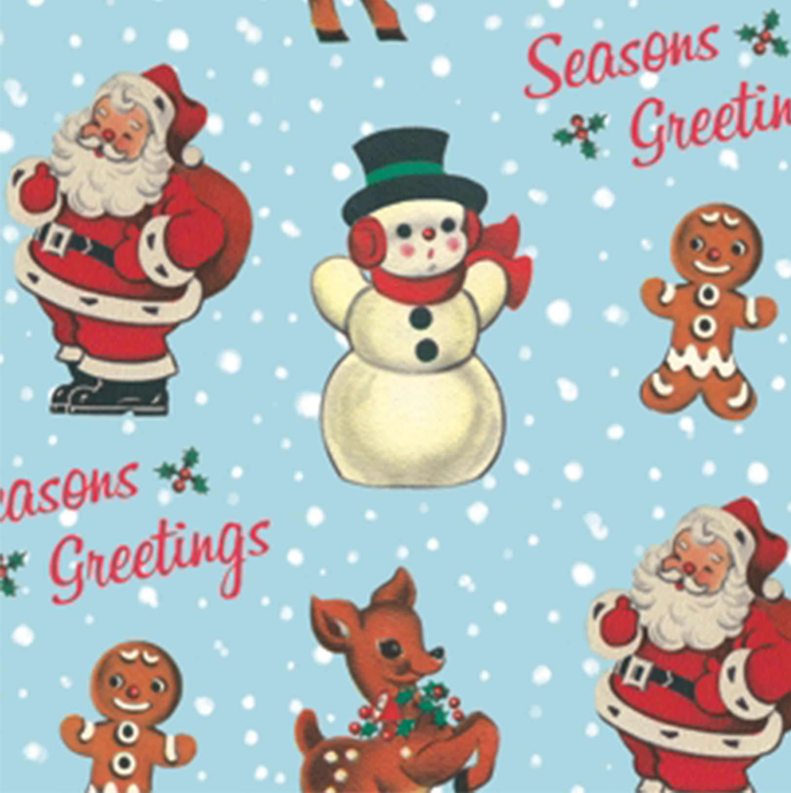 retro christmas wrapping paper - Christmas Wrap