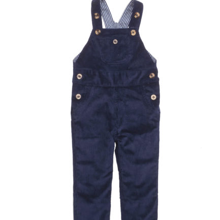 dungarees blue stripe